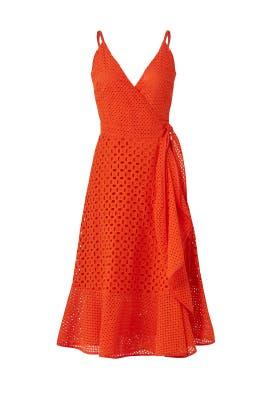 Red Kacie Dress by Trina Turk