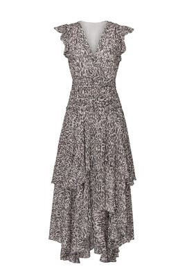 Caris Kara Long Dress by AllSaints