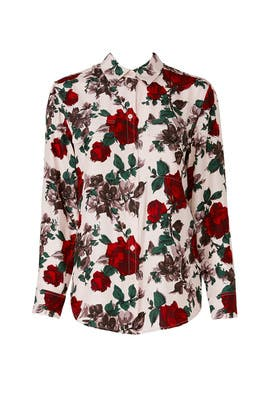 Signature Floral Top by Equipment