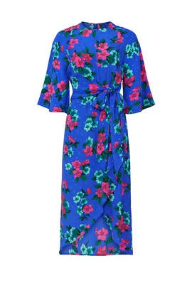 Vayen Draped Detail Dress by Essentiel Antwerp