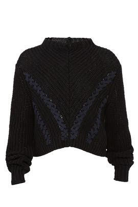 Long Sleeve Cropped Pullover by 3.1 Phillip Lim