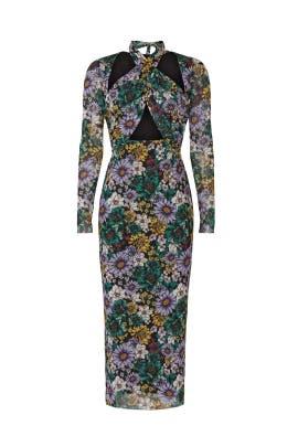 Adut Garden Halter Dress by AFRM