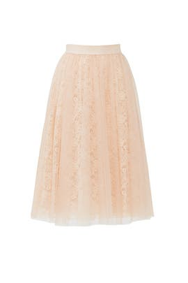 Blush Shrubbery Skirt by Bailey 44