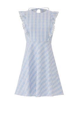 Linen Embroidered Dress by Draper James