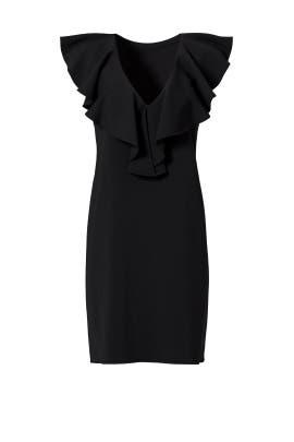 Black Carnegie Dress by Amanda Uprichard