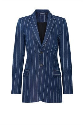 The Striped Calla Blazer by Current/Elliott