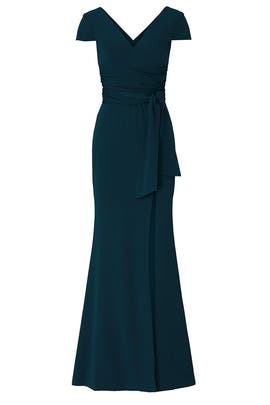 Evie Pine Gown by Dress The Population