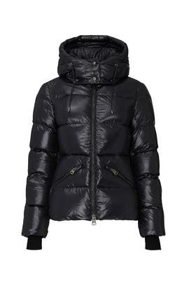 Black Madalyn Puffer Coat by Mackage