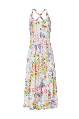 White Mina Dress by Petersyn