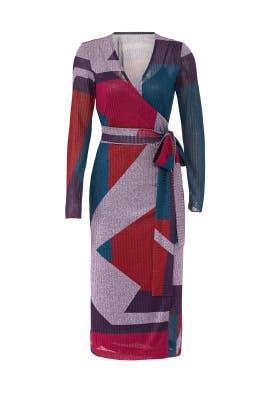 Colorblock Ellie Dress by Tanya Taylor