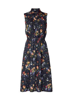 Floral Shirt Dress by Adam Lippes Collective