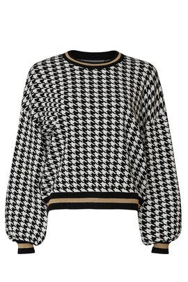 Houndstooth Pullover by 525 America