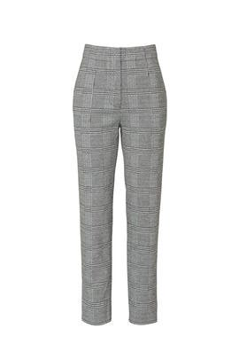 Grey Plaid Pants by Jason Wu Collective