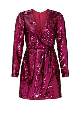 Sequin For Now Mini Dress by La Maison Talulah