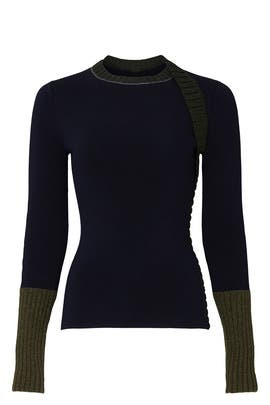 Chunky Trim Sweater by Victoria Beckham