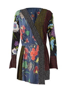 Floral Dot Printed Dress by Diane von Furstenberg