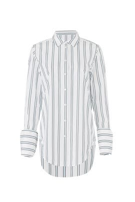 Striped Essential Button Down by Equipment
