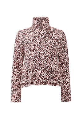 Pop Print Military Jacket by Giamba