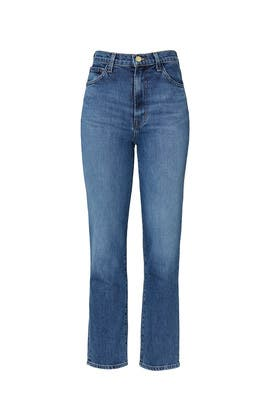 Jules High Rise Straight Jeans by J BRAND