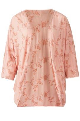 Blush Floral Kimono by JUNAROSE