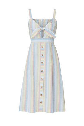Rainbow Stripe Dress by Moon River