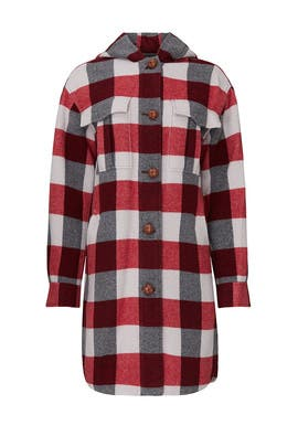Plaid Beck Coat by rag & bone
