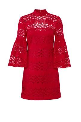 Ruby Rose Twist Dress by Trina Turk