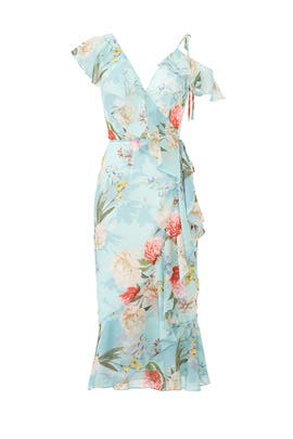 Tea Time Wrap Dress by Yumi Kim