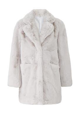 Cloud Sophie Faux Fur Coat by Apparis