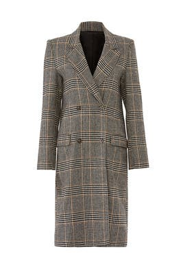Plaid Kensington Coat by ASTR