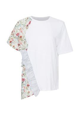 Floral Panel T-Shirt by Clu