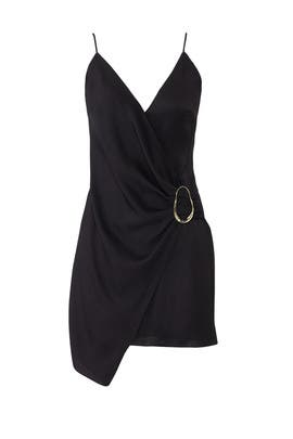 Cushnie Ring Crossover Dress