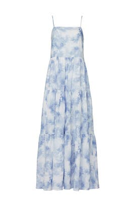 Clarissa Tie Dye Maxi by Jonathan Simkhai