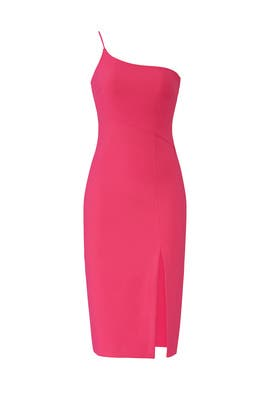 Fuchsia Cassidy Dress by LIKELY