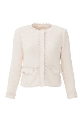 Blush Stretch Jacket by Rebecca Taylor