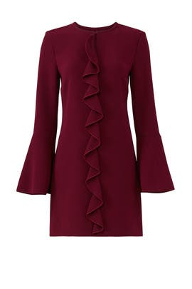 Purple Monner Dress by Rachel Zoe