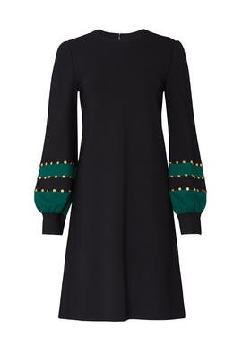 Grommet Sleeve Ponte Dress by Tory Burch