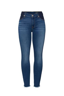 New Luxe Maternity Ankle Skinny Jeans by 7 For All Mankind