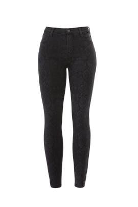 Python Alana Skinny Jeans by J BRAND