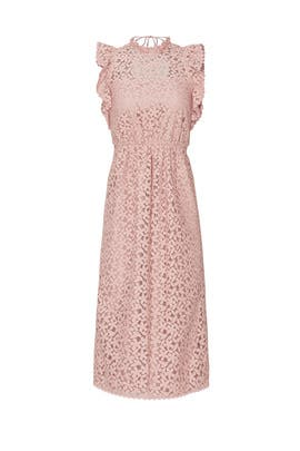 Flora Lace Ruffle Dress by kate spade new york