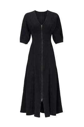 Black Denim Sophie Dress by Mara Hoffman