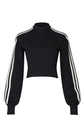 Black Side Stripe Sweatshirt by Y-3