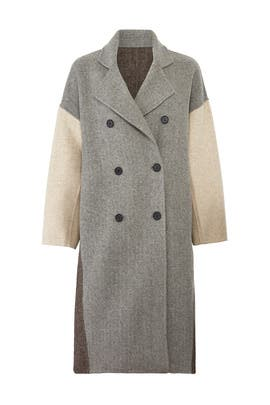 Marchella Grey Coat by CAARA