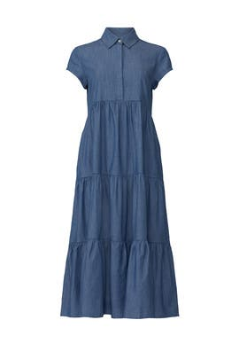 Chambray Midi Dress by Peter Som Collective
