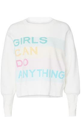 Girls Can Do Anything Sweatshirt by Zadig & Voltaire