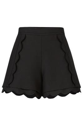 Black Duplicate Shorts by C/MEO COLLECTIVE