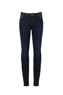 High Waisted Maternity Jeans by 7 For All Mankind