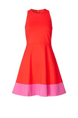 Red Colorblock Dress by kate spade new york