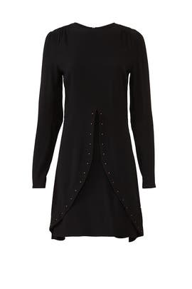 Black Embellished Dress by See by Chloe