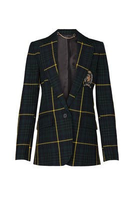 Green Plaid Blazer by Tommy Hilfiger